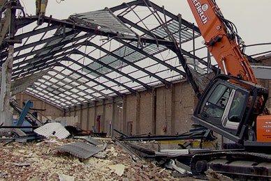 Kolikšna je demontaža hangara